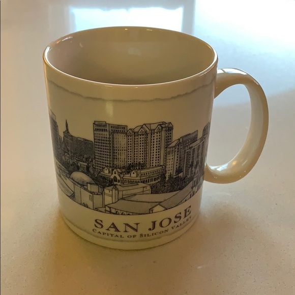 Starbucks Coffee San Jose Capital Of Silicon Valley Architecture Series Mug-NEW